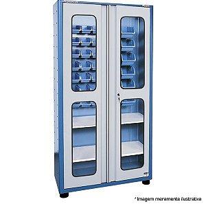 Armário industrial porta componentes para 33 caixa Bin AM-78 MARCON