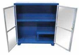 Armário industrial para ferramentas c/ 01 prateleira, porta em acrílico BRA-10218 BRACLAY