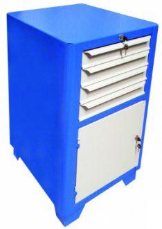 Gabinete Industrial c/ 04 Gavetas e 01 Porta BRA-GAV10507