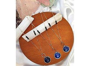 Colar Difusor Sabedoria Com Lápis-Lazuli