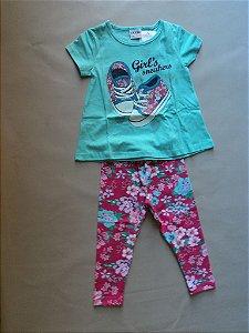 Conjunto Blusa e Calça Legging Fakini