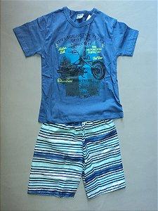 Conjunto Camiseta e Bermuda Fakini Kids