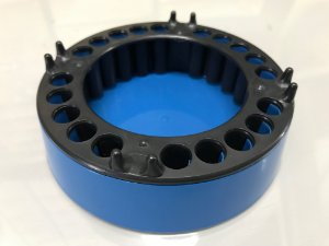 Cinzeiro anti-fumaça Jetaplast Azul