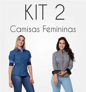 Kit de Camisas Femininas