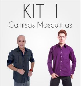Kit Camisas Masculinas