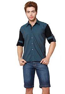 Camisa Gnose Tencel com Viscolycra