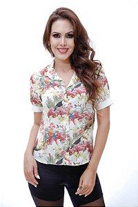 Camisa manga Curta  Com Estampa Sileimã Pinheiro