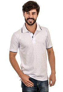 Camisa Gola Polo Com Fenda
