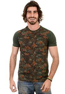 Camiseta basica Estampa Palmeira