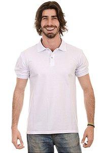 Camisa Gola Polo Piquet Branca