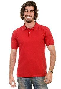 Camisa Gola Polo Piquet Vermelho