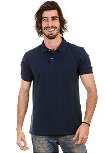 Camisa Gola Polo Piquet Marinho