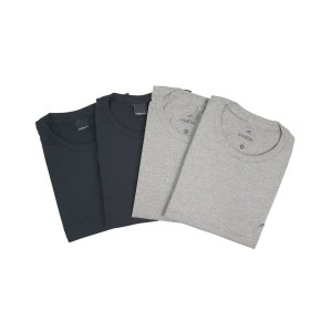 Kit com 4 Camisetas Básicas M