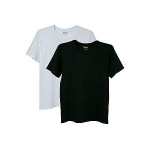 Kit com 2 Camisetas Básicas GG