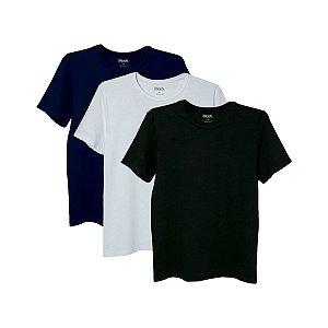 Kit com 3 Camisetas Básicas G