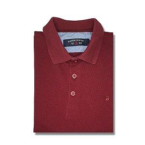 Camisa Polo Raffer Slim Vinho