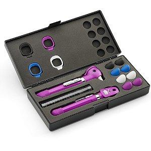 Conjunto Pocket Plus LED Purple com Case 92880PUR Welch Allyn