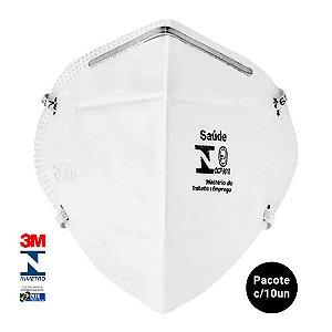 Máscara de Proteção PFF-2 S 9920H 3M kit com 10 unidades