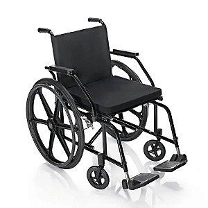 Cadeira de Rodas Pratica PL4001 44cm Pneu Maciço Prolife