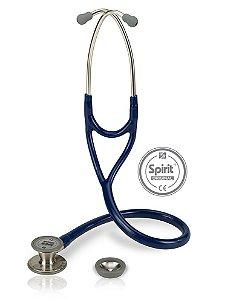 Estetoscópio Cardiológico Azul Marinho Spirit