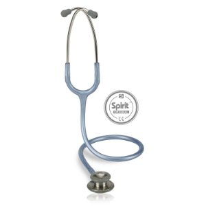 Estetoscópio Professional Adulto Azul Claro Perolizado Spirit