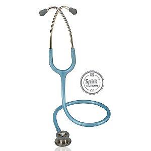 Estetoscópio Professional Pediátrico Azul Claro Perolizado Spirit