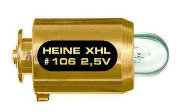 LÂMPADA HALÓGENA XENON XHL #106 2,5V HEINE