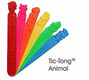 Abaixador de Língua TIC-TONG Animal C/ 40Un. Agaplastic