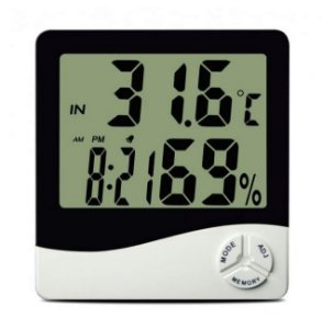 Termo-Higrômetro Digital MÁX/MIN TH50 9690 Incoterm
