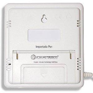 Termo-Higrômetro Digital C/ Umidade INT/EXT 7664 Incoterm