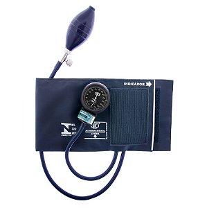 Aparelho de Pressão Adulto Nylon Velcro Azul AP0329 BIC