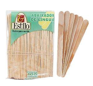 ABAIXADOR DE LÍNGUA C/100UN ESTILO