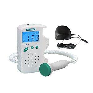 Detector Fetal Digital Portátil RECARREGÁVEL FD-200D MD