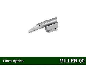 Lâmina Laringoscópio Fibra Óptica Miller Nº00 MD