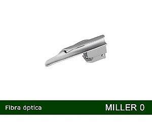 Lâmina Laringoscópio Fibra Óptica Miller Nº0 MD