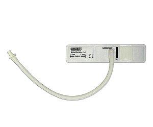 Braçadeira Descartável 1 Tubo Neonato Nº1 (3,3 a 5,6cm) P/ Monitor Bionet