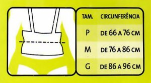 Órtese Para Costas E Cintura P BC0080-A Mercur