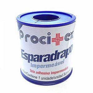 Esparadrapo Impermeável Branco 5cm x 4,5m Procitex