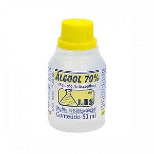 Álcool 70% Antisséptico 50mL LBS