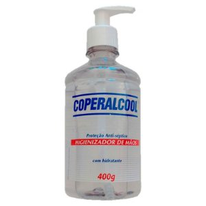 Álcool Gel Antisséptico Pump 400mL Cooperalcool