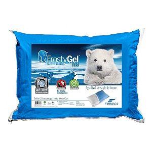 Travesseiro Frostygel Fibra 50x70cm 4345 Fibrasca