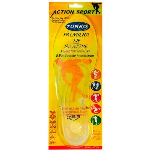 Palmilha De Silicone Action Sport 39/40 Ortho Pauher
