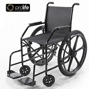 Cadeira de Rodas PL 002 Pneu Inflável Prolife