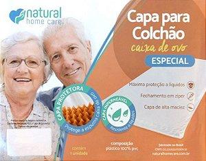CAPA PARA COLCHÃO CAIXA DE OVO ESPECIAL SOLTEIRO - NHC