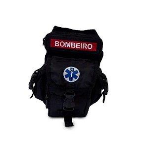 BORNAL PARA BOMBEIRO - COR PRETA - SAVE APH
