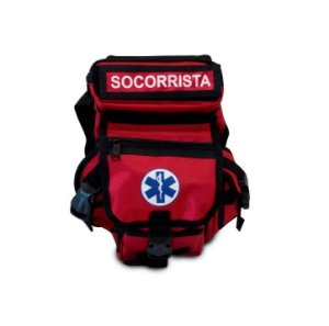 BORNAL PARA SOCORRISTA - COR VERMELHA - SAVE APH