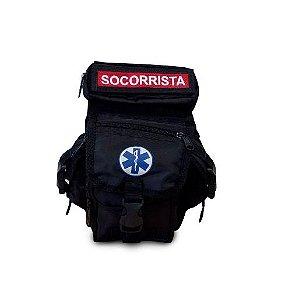 BORNAL PARA SOCORRISTA - COR PRETO - SAVE APH