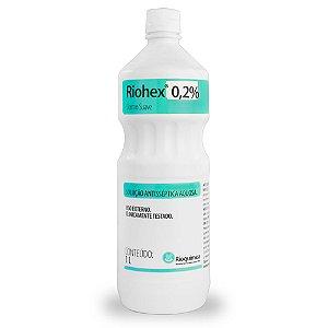 Clorexidina 0,2% 1L Riohex Dermosuave Rioquímica