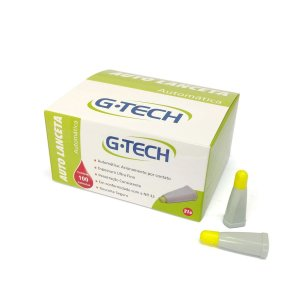 Auto Lanceta de Segurança 21G C/100UN G-TECH
