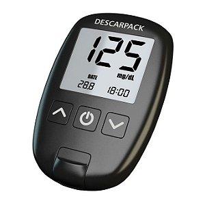 Sistema de monitoramento de glicemia Descarpack